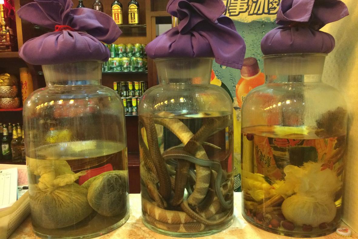 Čínský alkohol není pro každého