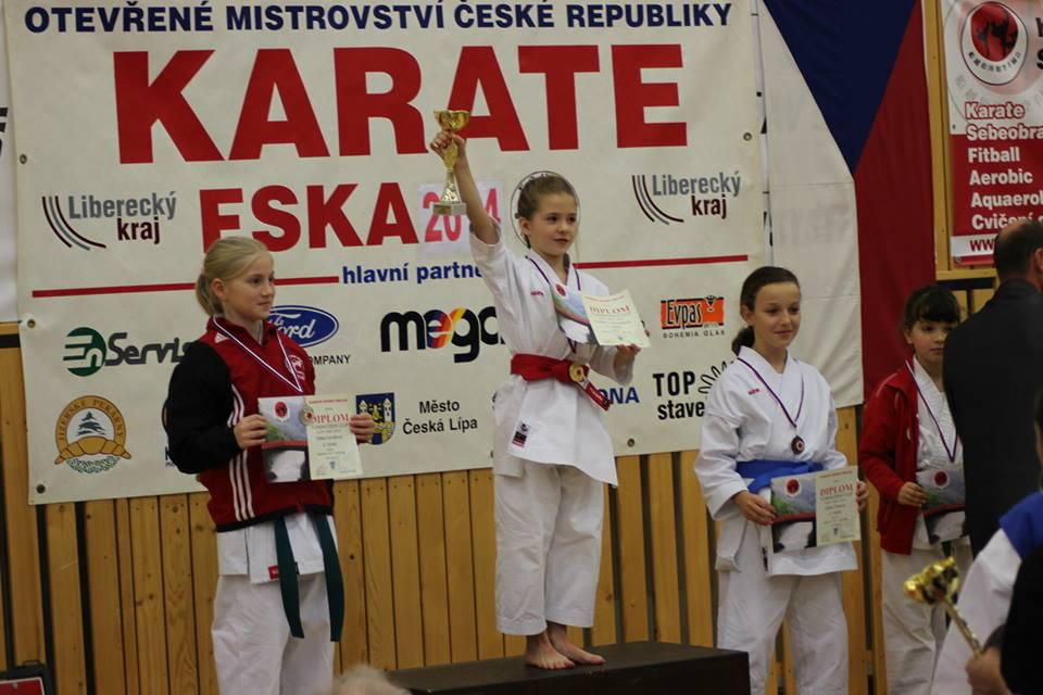 Mistryně ČR FSKA - Amálie Ondroušková