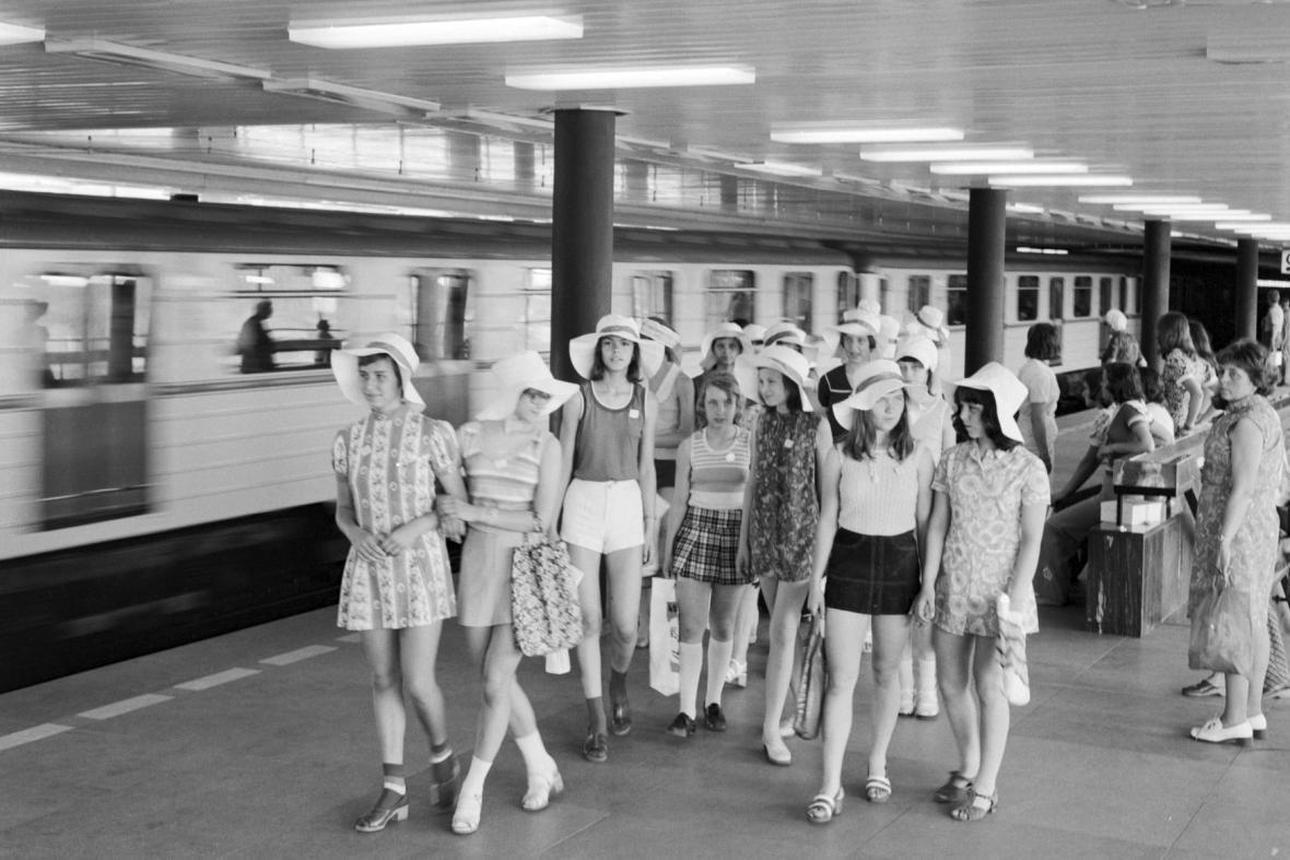 Stanice metra Gottwaldova (dnes Vyšehrad)