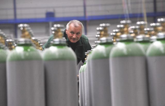 Tlakové lahve Vítkovice Machinery Group