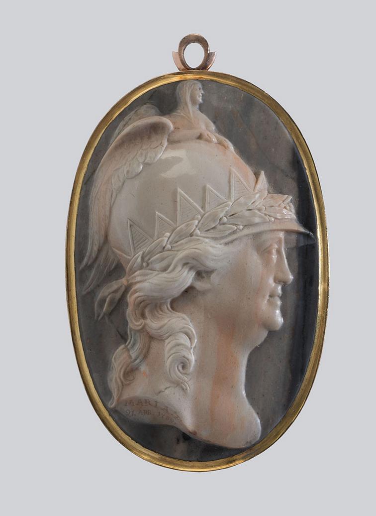 Kateřina II. Veliká jako Minerva, 1789