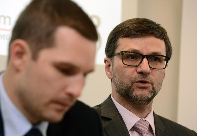 Petr Toman a Daniel Paľko
