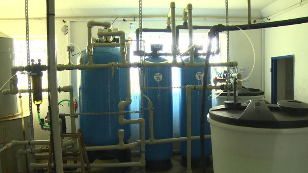 Vlastní úpravna vody v mlékárně v Jaroměřicích nad Rokytnou