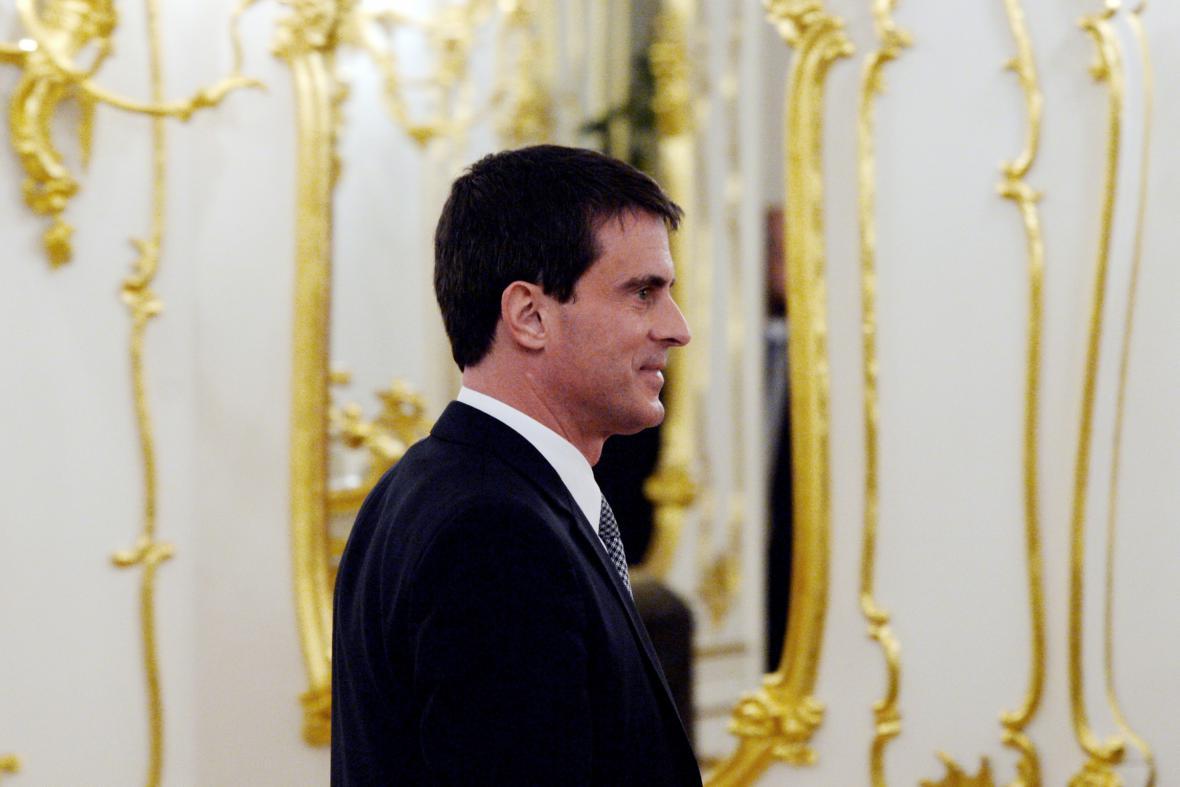 Manuel Valls v Praze