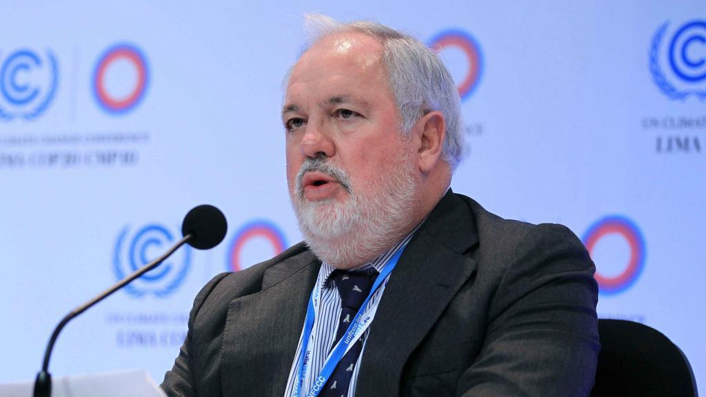 Eurokomisař pro energetiku a ochranu klimatu Miguel Arias Caňete