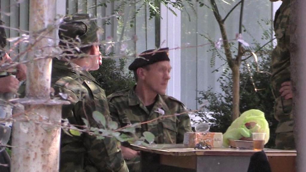 Vojáci na Krymu