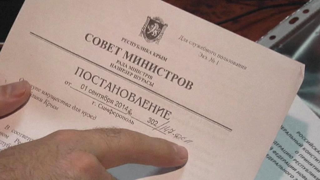 Vyvlastňování na Krymu