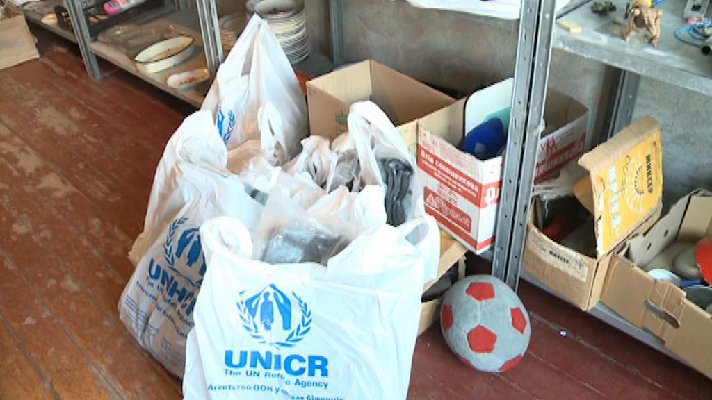 Zásoby pro ukrajinské uprchlíky