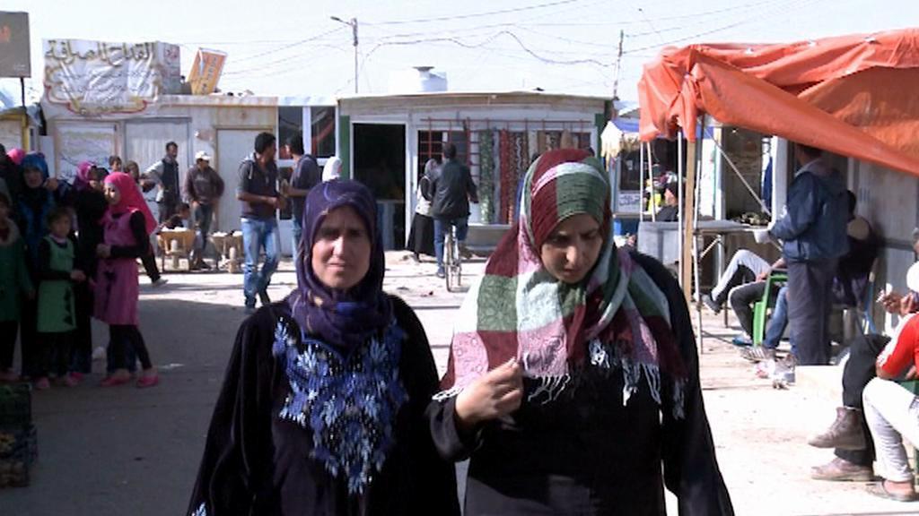 Uprchlický tábor Zaatarí