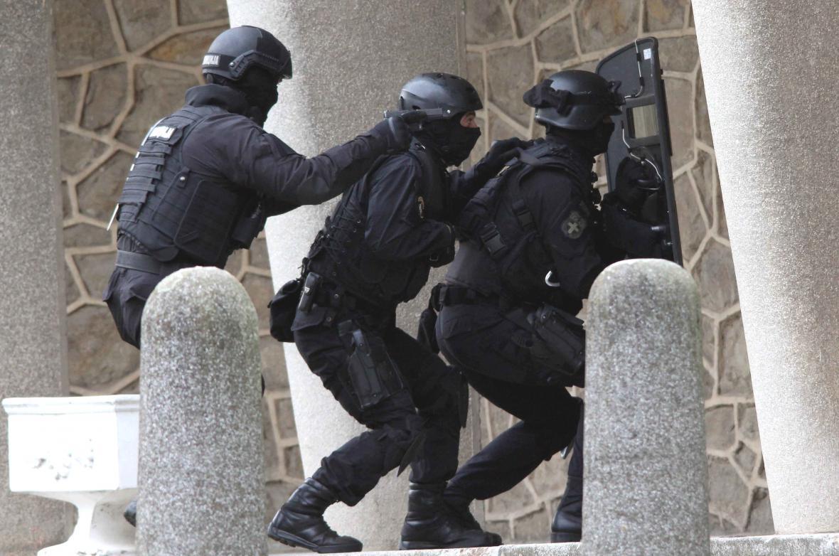 Srbská policie