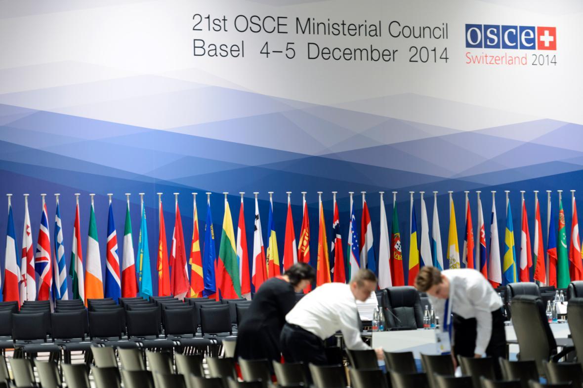 Jednání OBSE v Basileji