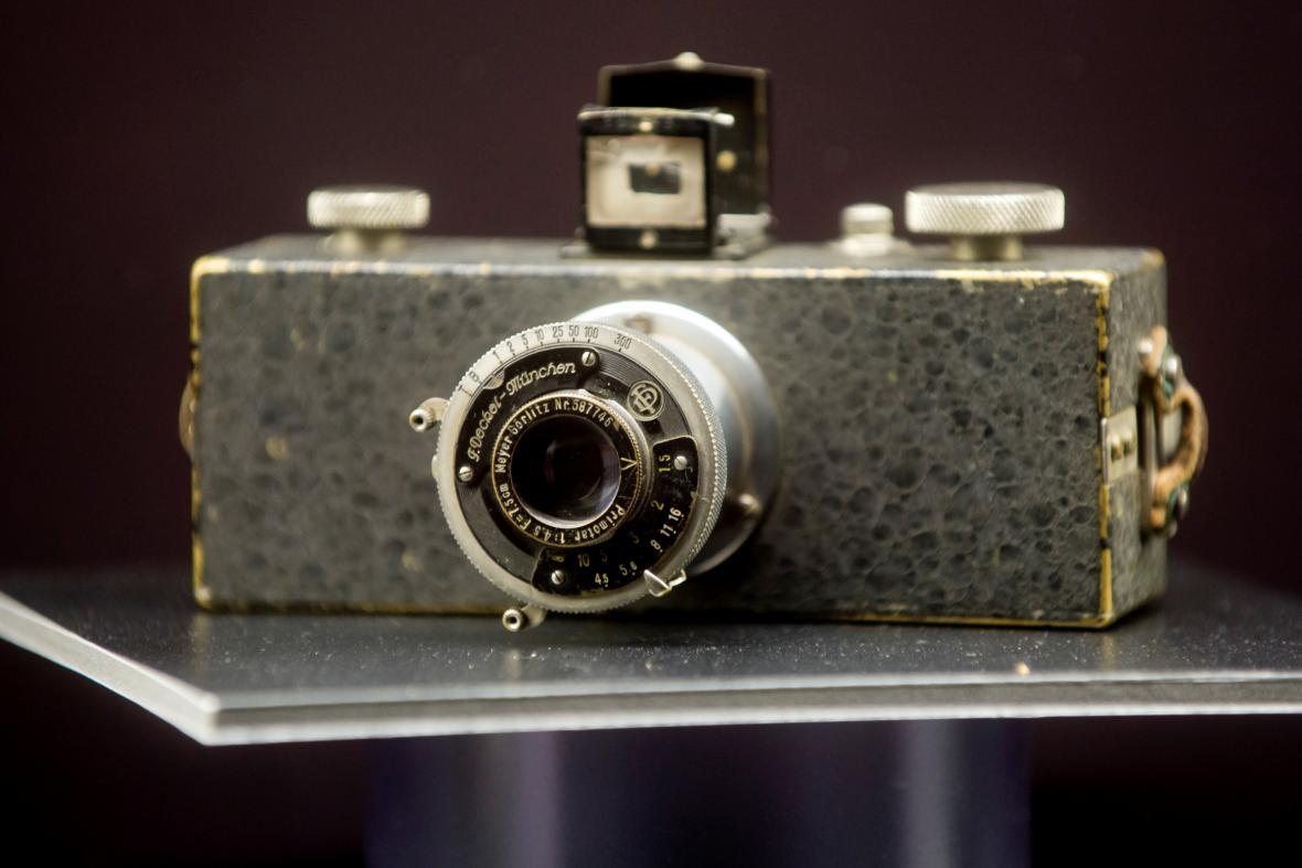 Fotoaparát Přemysla Koblice z roku 1939