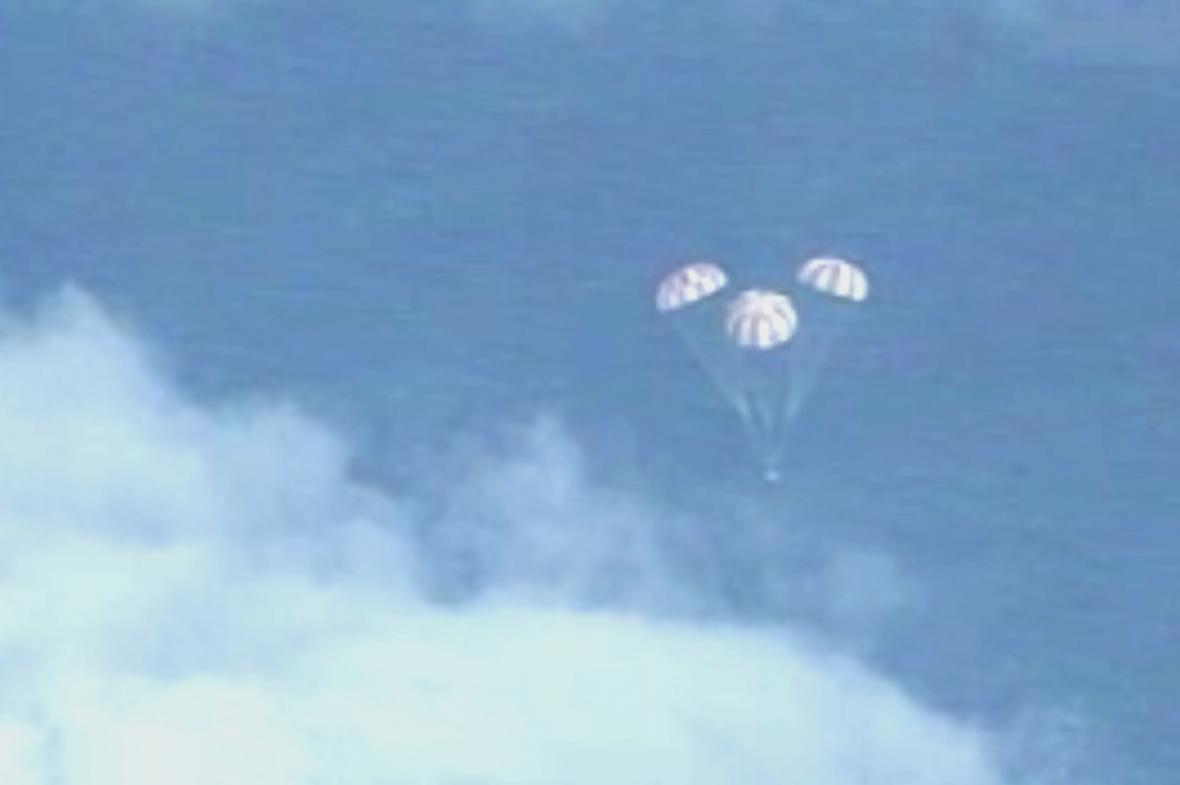 Zkušební let Orionu