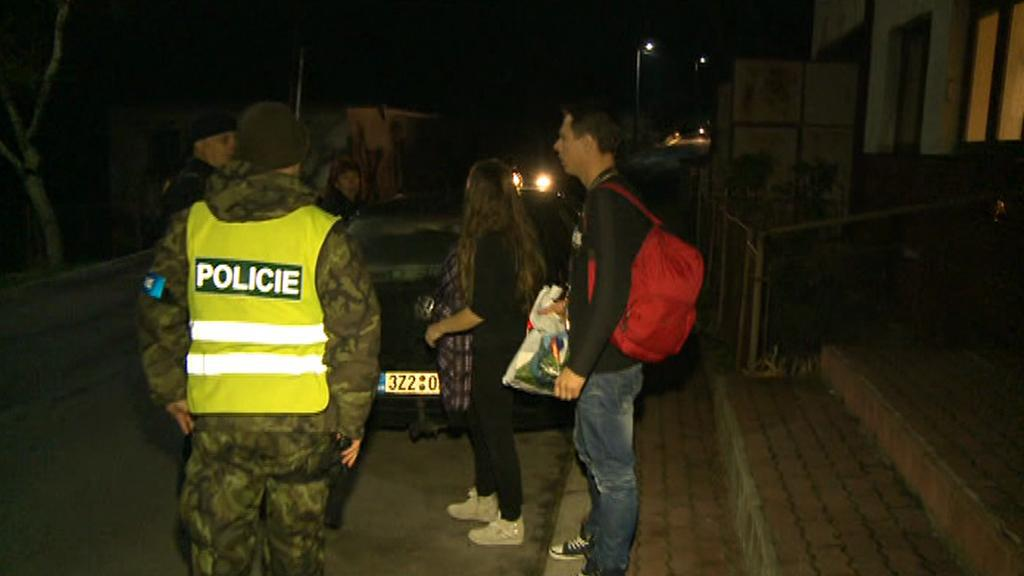 Opakovaná evakuace obcí u Vrbětic