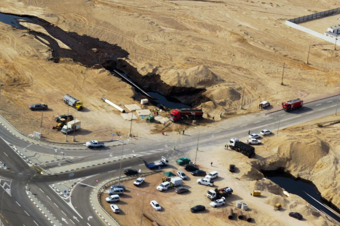 Ekologická katastrofa v Izraeli