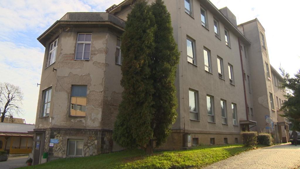 Budova dětské chirurgie v pardubické nemocnici