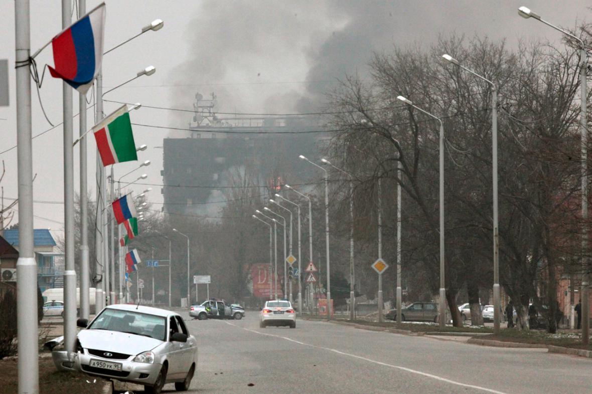 Teroristický útok v Grozném