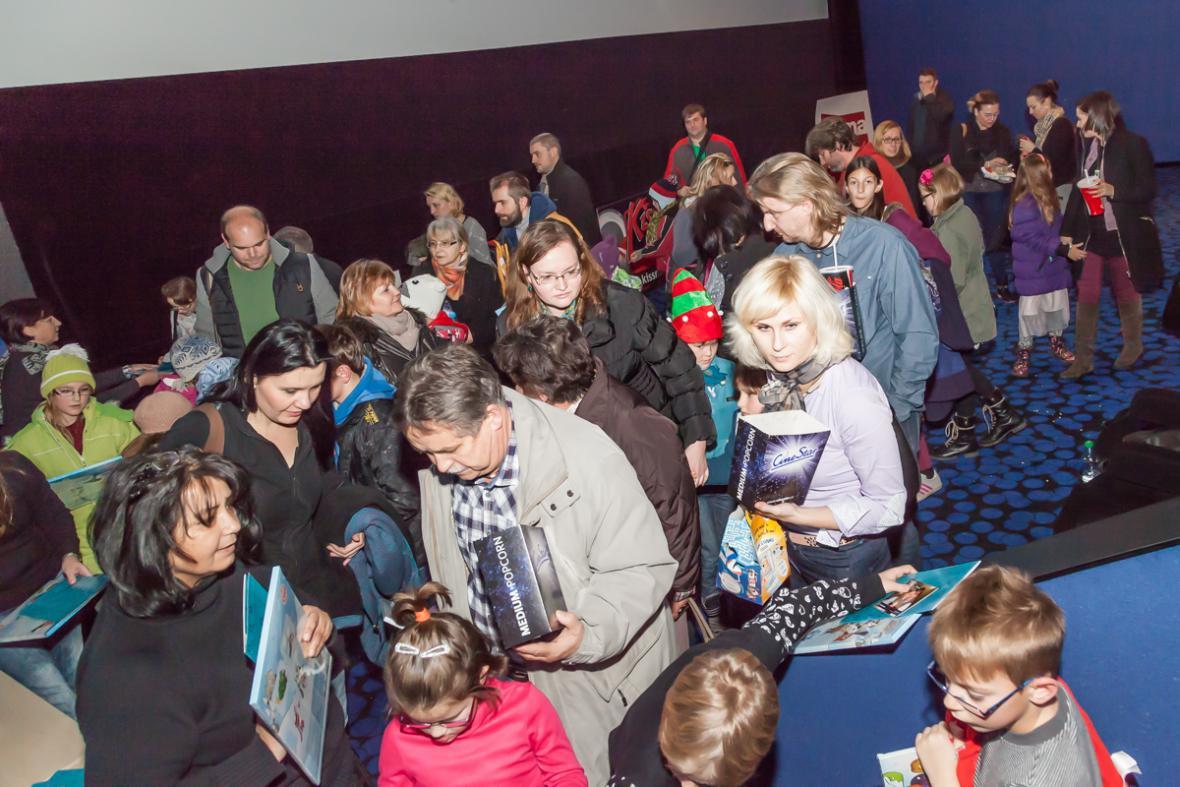 Mikulášská projekce v ostravském CineStaru