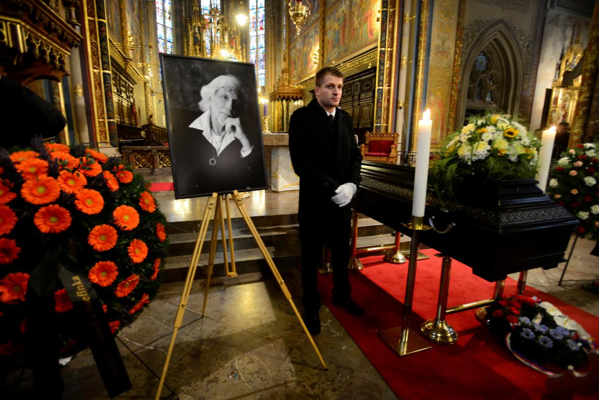 Pohřeb Petra Hapky