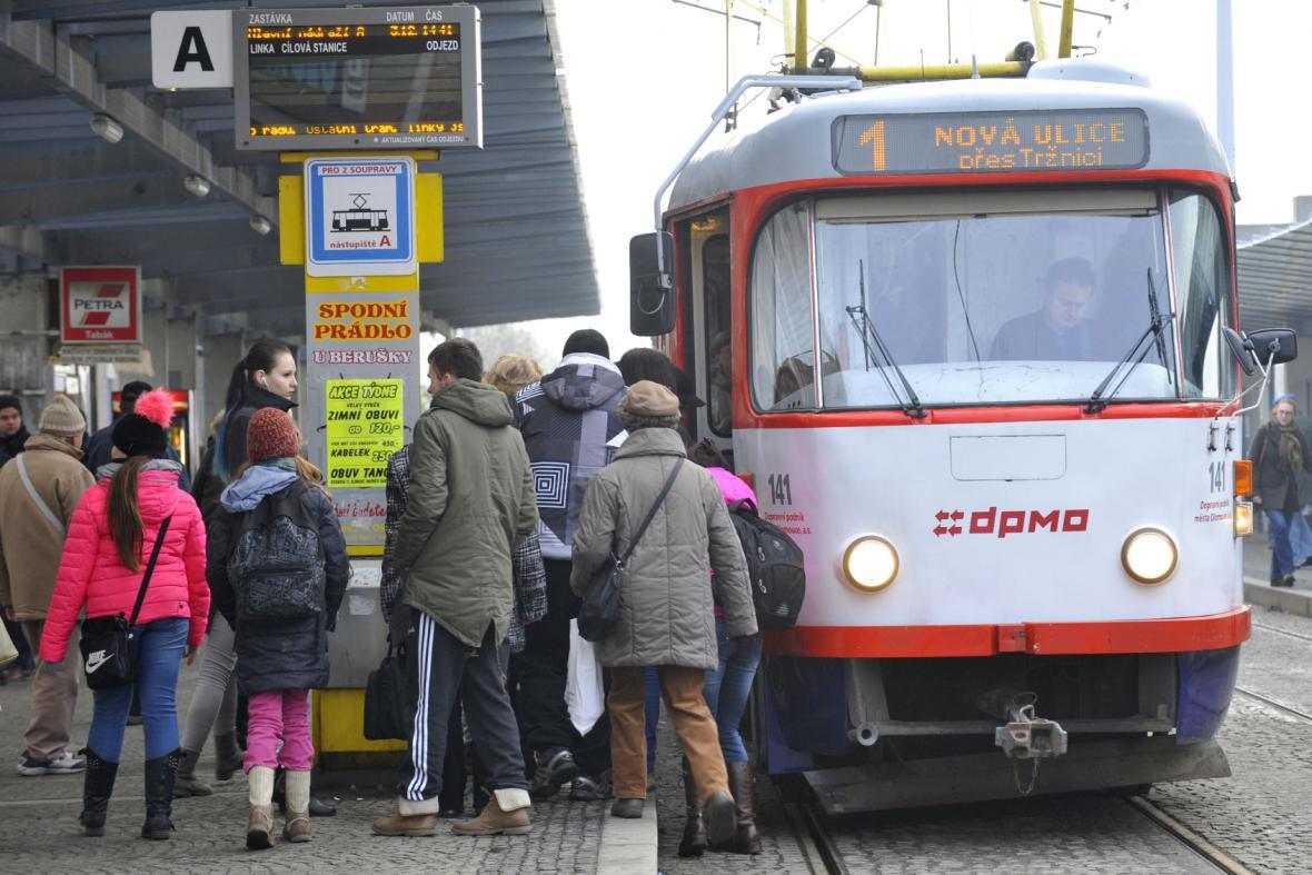 MHD v Olomouci