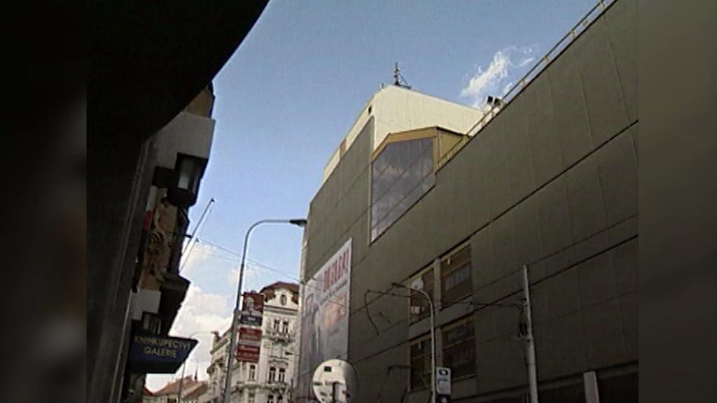 Obchodní dům Máj na archivním snímku