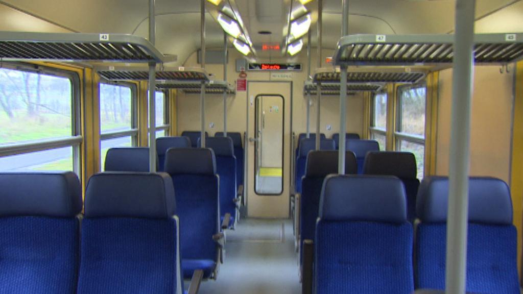 Vagon ve vlaku z Horní Plané