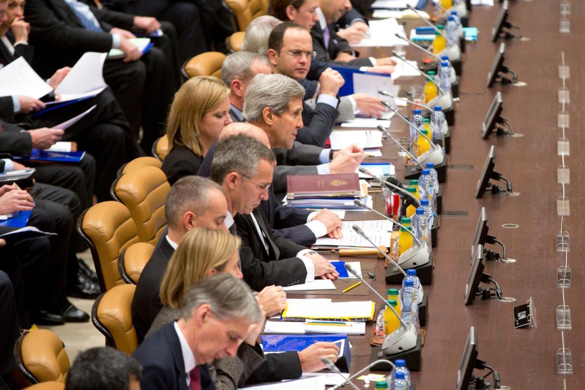 Konference protidžihádistické koalice v Bruselu
