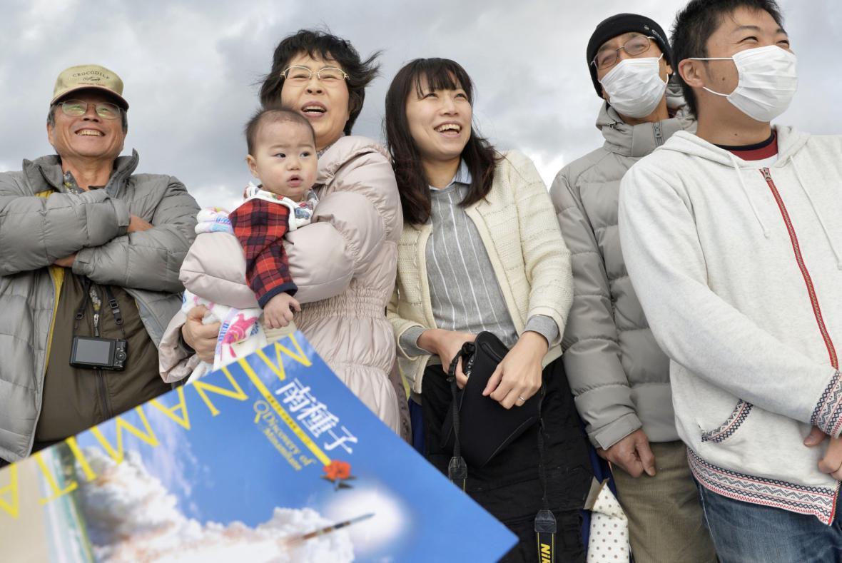 Japonci poslali sondu na asteroid
