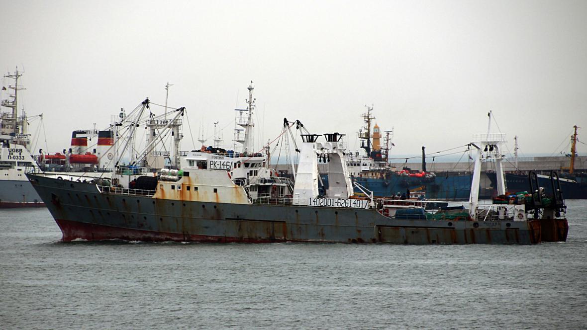 Jihokorejská loď Oryong 501