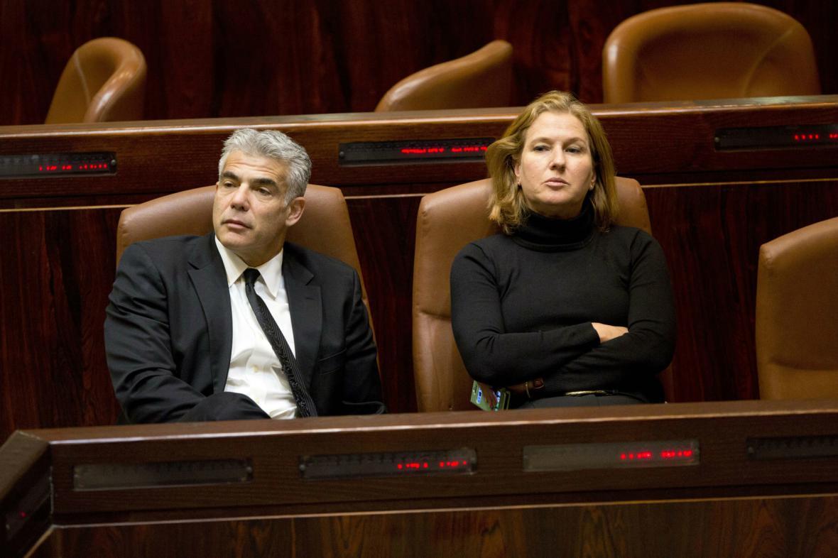 Jair Lapid a Cipi Livniová
