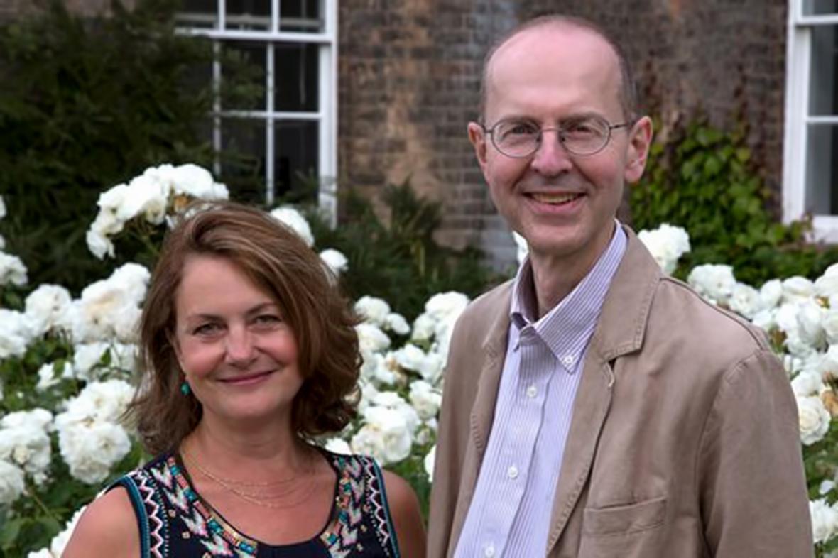 Wendy Duldigová a Michael Ibsen, potomci sestry Richarda III. Anny