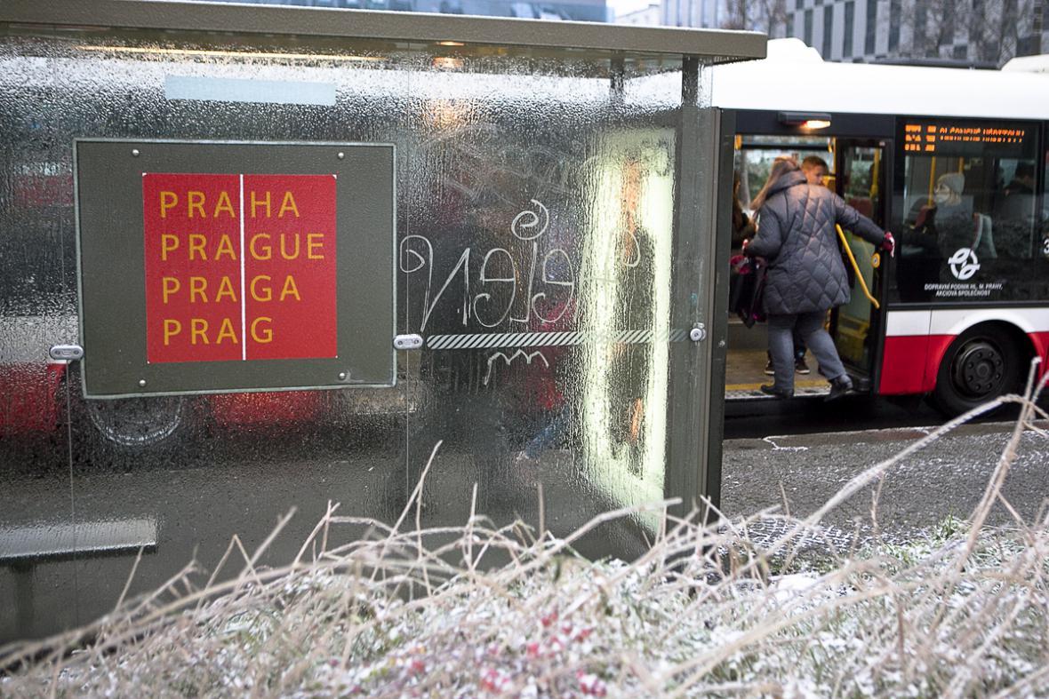 Ledovka v Praze - náhradní autobusová doprava