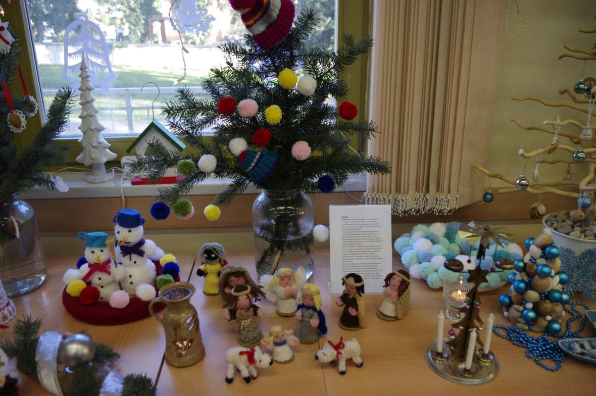 Vánoční výstava ve Vinoři