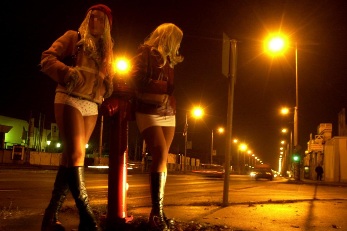 Pouliční prostitutky
