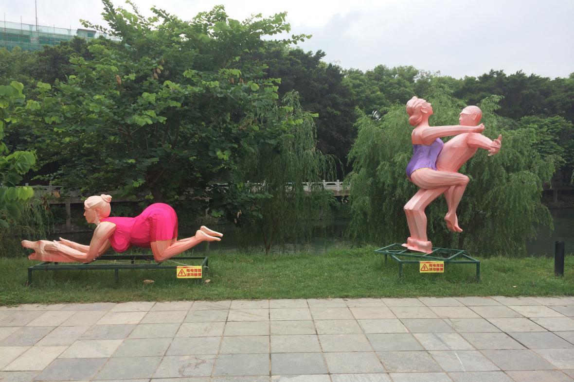 Zobrazení milostného aktu v prudérní Číně