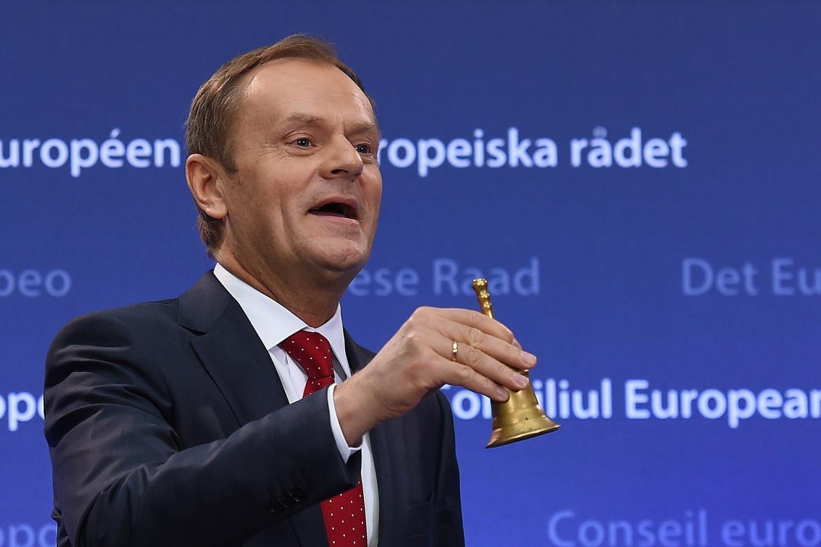 Donald Tusk je oficiálně předsedou Evropské rady