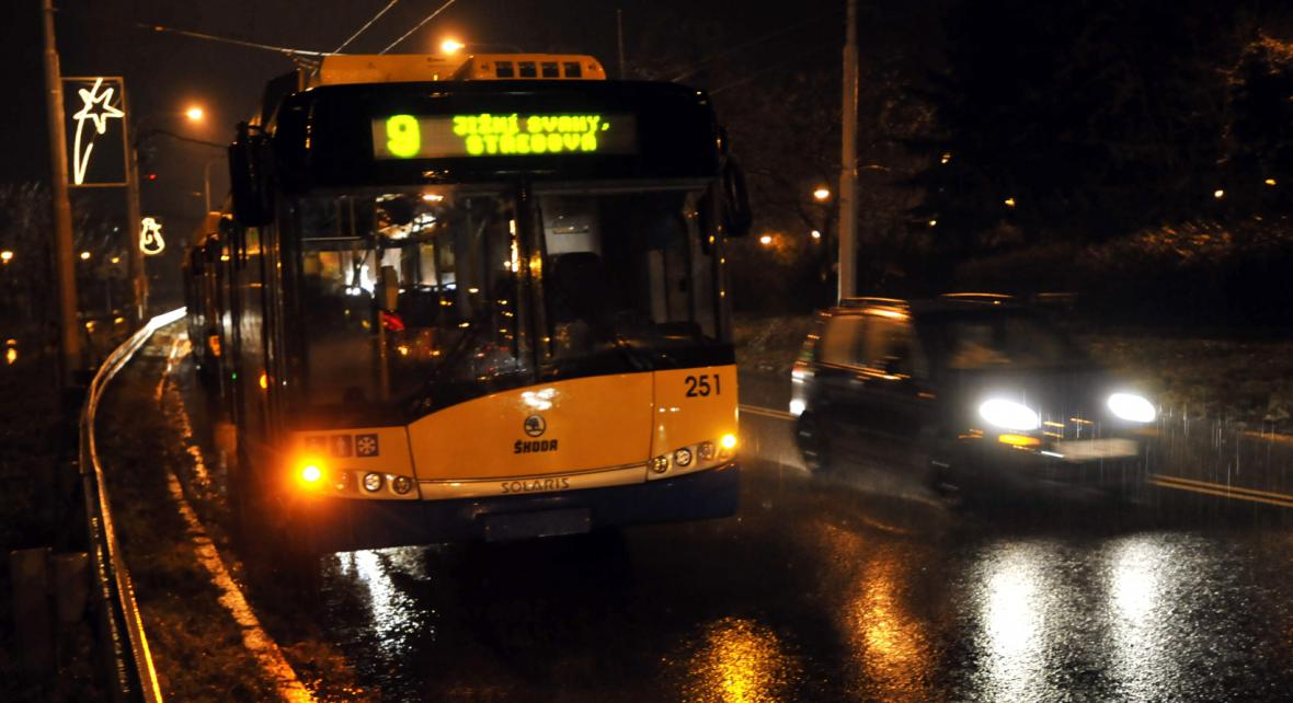 Trolejbus ve Zlíně