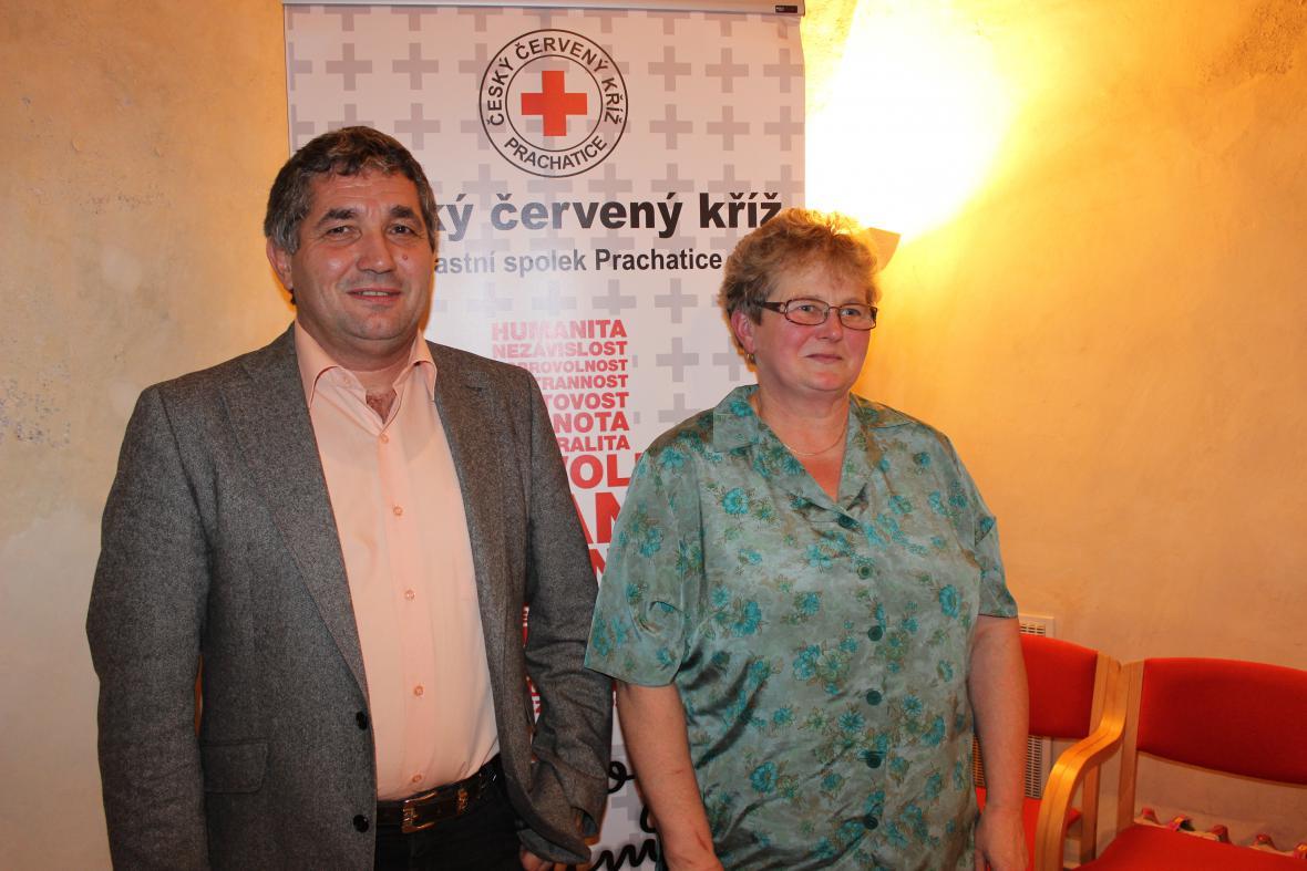 Ocenění dárců krve v Prachaticích