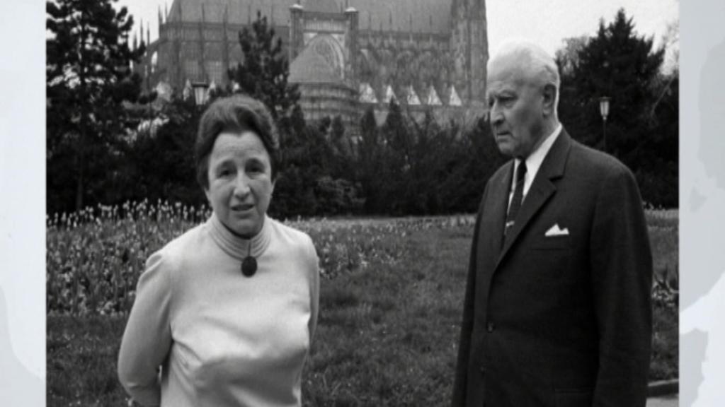 První dáma Irena Svobodová, manželka prezidenta Ludvíka Svobody