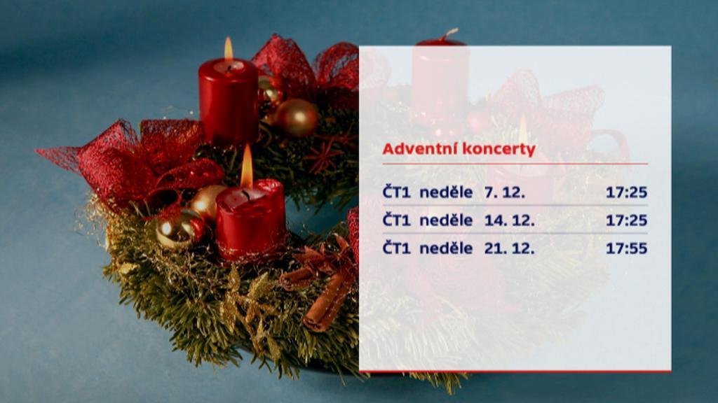 Adventní koncerty České televize