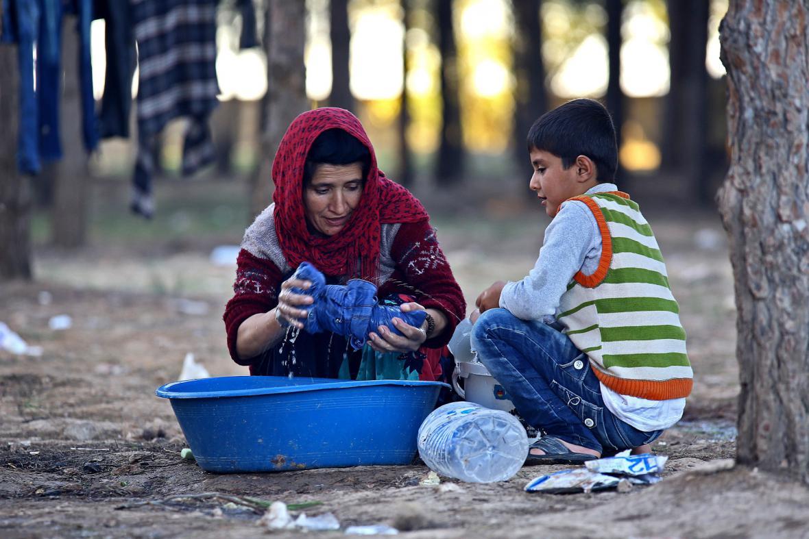 Uprchlíci ze Sýrie