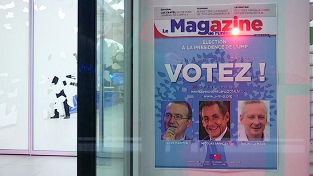 Elektronická volba předsedy pravicové UMP