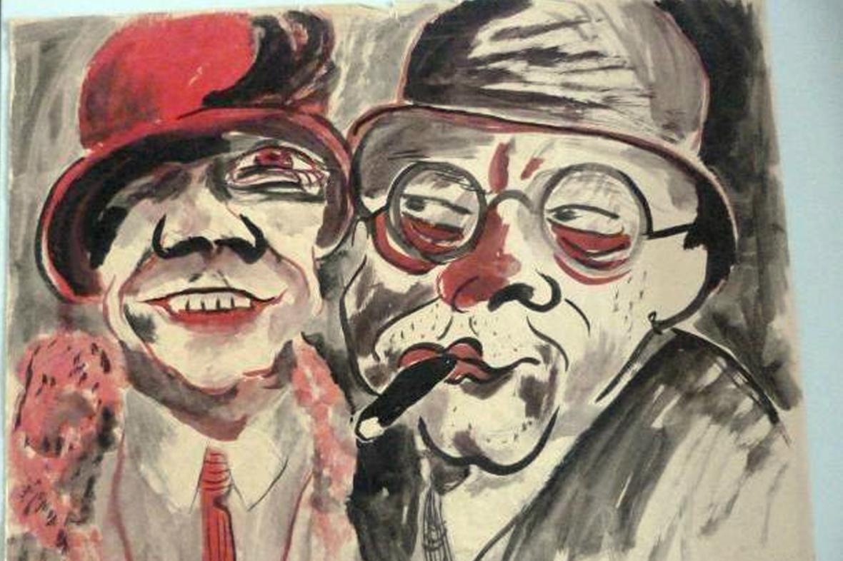 Gurlittova sbírka: Dvojice od Hanse Christopha