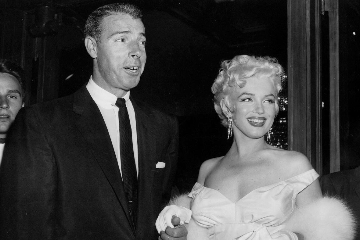 Joe DiMaggio a Marilyn Monroe