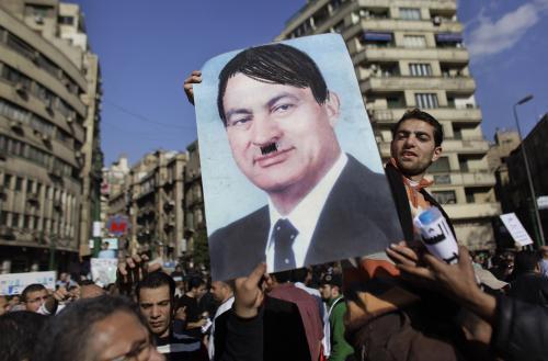 Egypt protestuje proti Mubarakovi