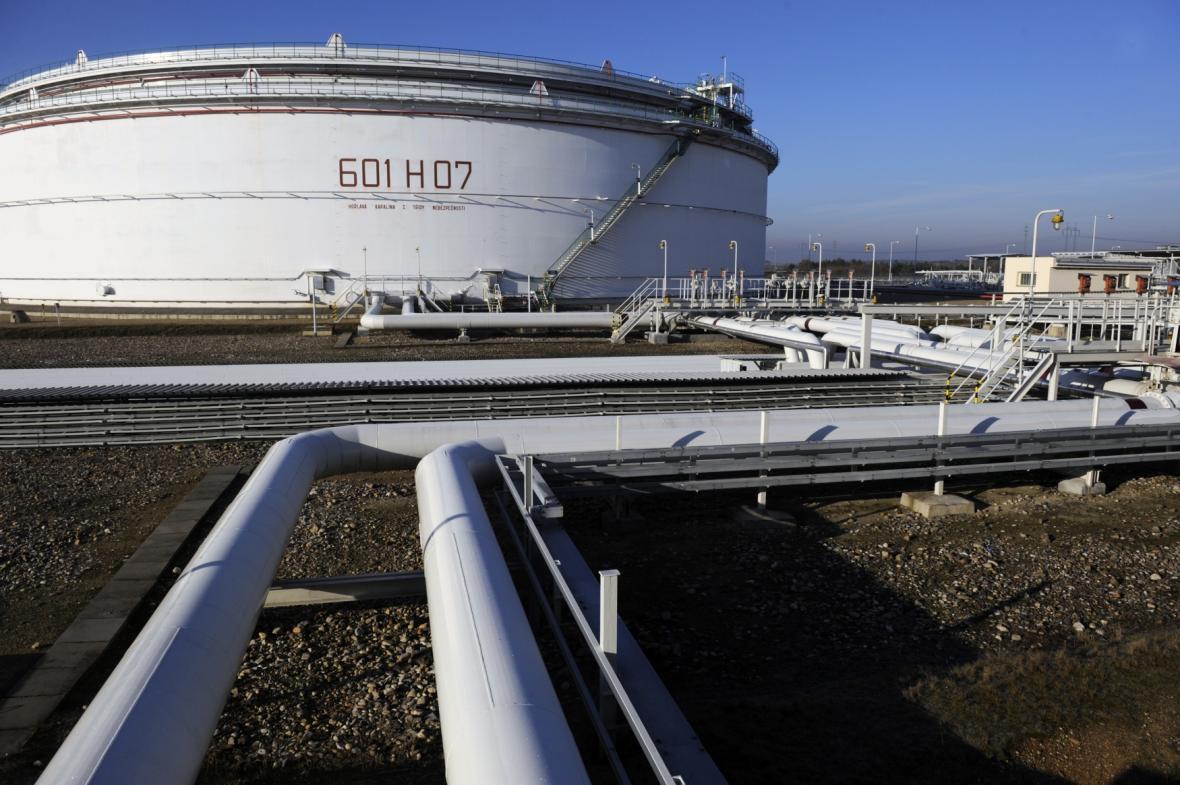 Zásobník ropy