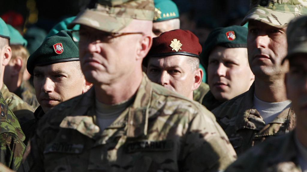 Příslušníci záložních sil polské armády