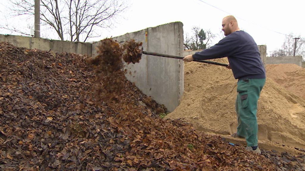 Sběrný dvůr v Miletíně má i sekci pro bioodpad