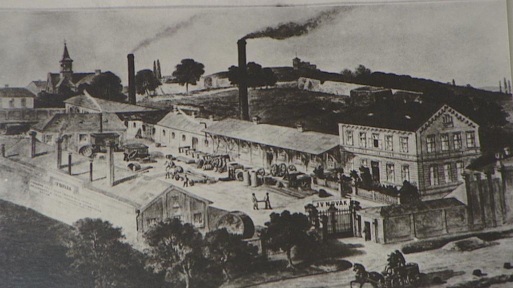 Holešovice - archivní záběr