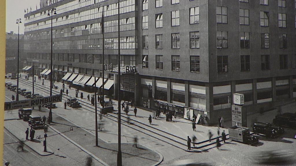 Veletržní palác na archivním snímku
